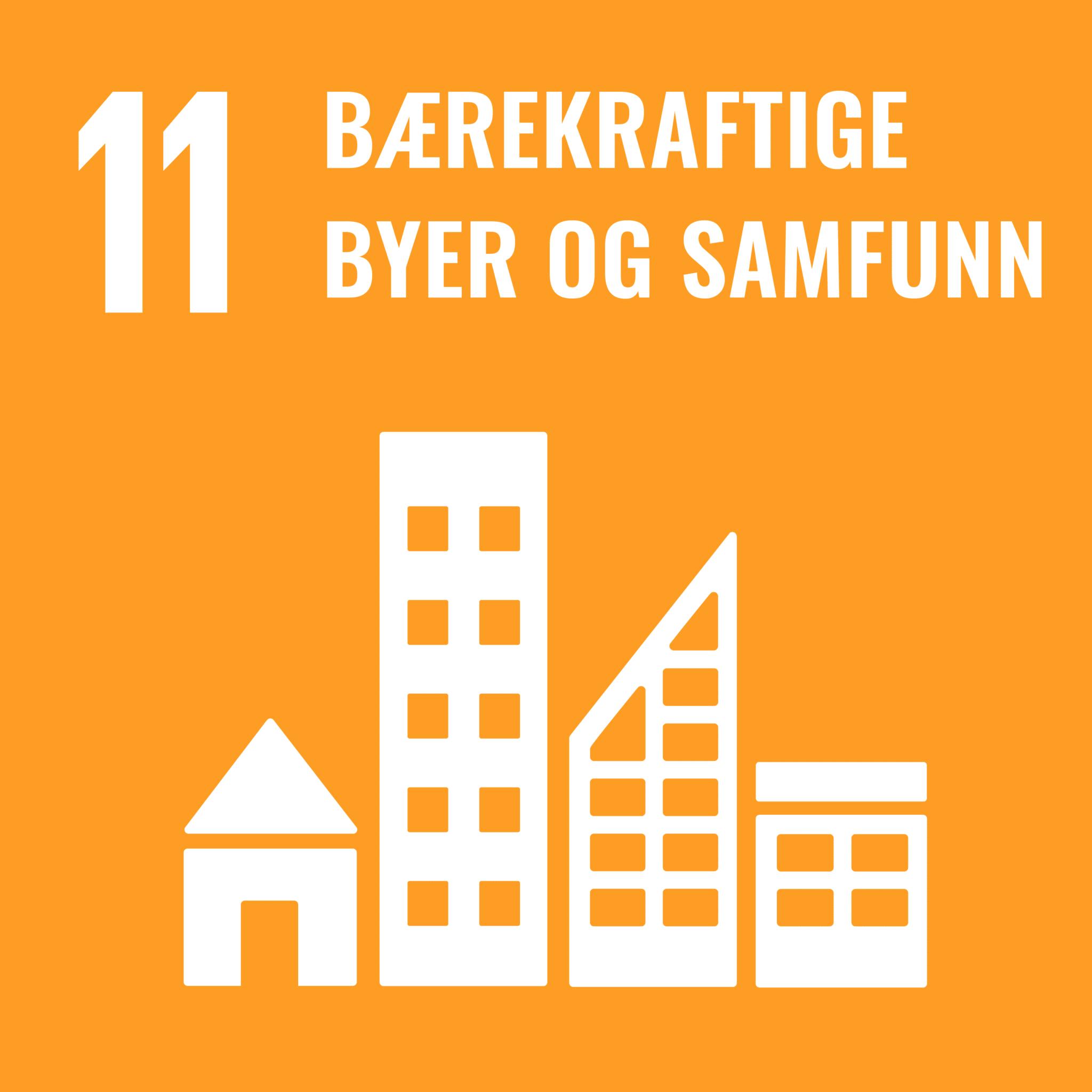 mål 11 logo